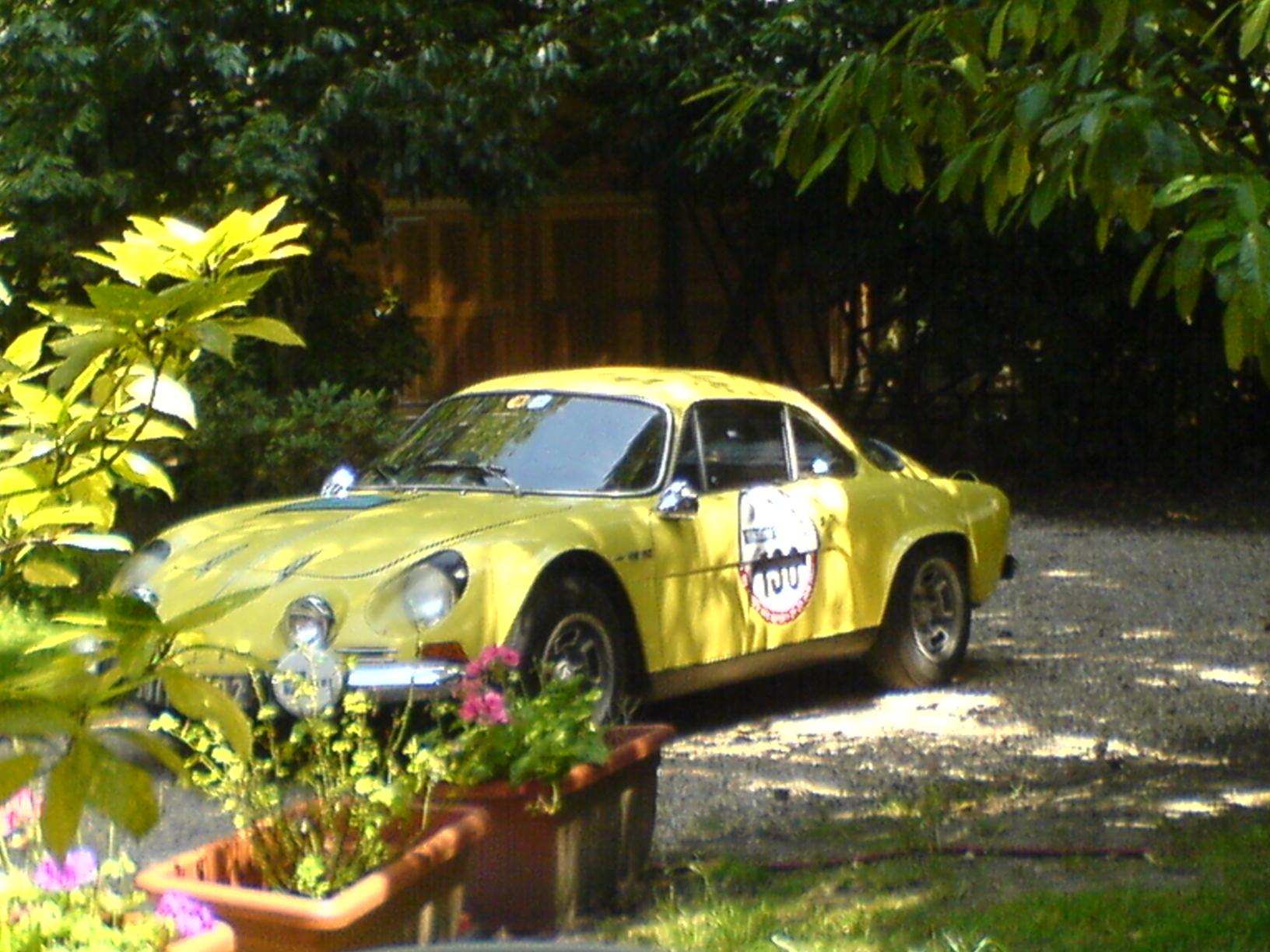 Au retour de la Coupe des Alpes 2007